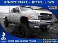 Certified, 2008 Chevrolet Silverado 2500HD LTZ, Silver, 25208A-1