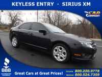 Used, 2011 Ford Fusion 4dr Sdn SE FWD, Black, 25545A-1