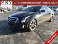 Used, 2016 Cadillac ATS Coupe 2dr Cpe 2.0L Performance Collection RWD, Black, G0100390-1