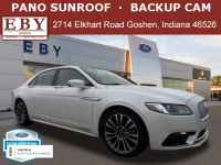 Certified, 2017 Lincoln Continental Select AWD, White, H5612021-1